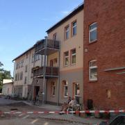 Fertigstellung Hofseite